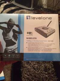 Image of Levelone 150mbps N wireless adsl 2 + modem router
