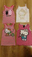 Koszulki Hello Kitty h&m rozmiar 98-104