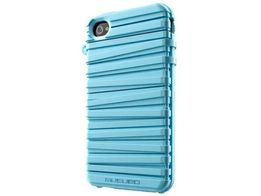Чехол-накладка Musubo Rubber Band для iPhone 4/4S Baby Blue (MU11002BB