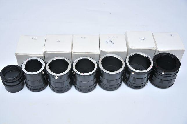 Макрокольца Nikon/Canon/Sony/Nex/Pentax/Micro 4/3/Minolta/м42 макро Днепр - изображение 1
