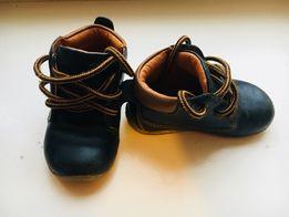 Кожаные ботинки garvalin 21 размер