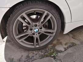 18inch F30 Rims and tyres