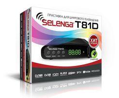Цифровой телевизионный приемник Selenga T81D t2 Wifi тюнер