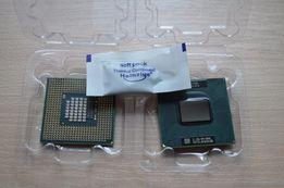 Процессор для ноутбука Intel Core 2 Duo T7500 (socket P) +термопаста