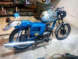 Мотоцикл Motorradwerk Zschopau mz es 150/1 1971 года