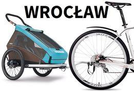 Wypożyczenie, przyczepka rowerowa CROOZER KID PLUS FOR 1 2 DOG Wrocław