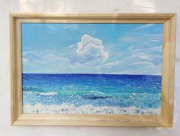 """Картина """"Море и Небо"""" 40х60 холст масло"""