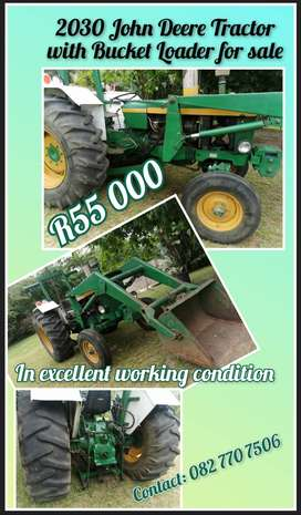 2030 Tractor with Bucket Loader for sale