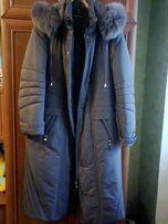 Продам зимнее пальто большого размера