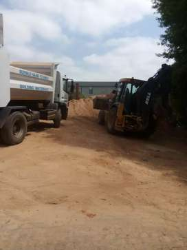 Rubble removal and soil filling