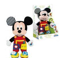 Interaktywny pluszak myszka Baby Mickey Miki Clementoni 12+