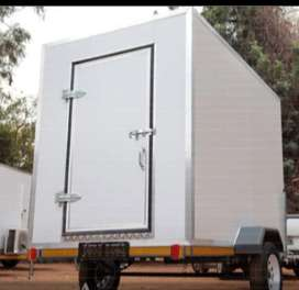 All kind off trailers available, flatdeck or box , reg papers and cor