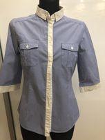 Mango koszula S błękitna w paski