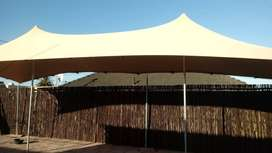 Stretch tents for sales and hire. We manufacture customized tents .