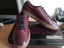 Мужские кожаные кроссовки- кеды RUSH by Gordon Rush Carver