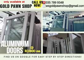 ALUMINIUM GLASS DOORS