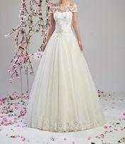 Suknia ślubna- Ilaria (z dodatkami) POLECAM