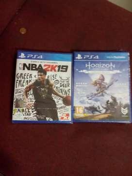 PS4 NBA 19+HORIZON ZERO  DAWN