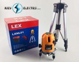 Лазерный уровень нивелир LEX LXNL01 + штатив (планировщик) POLAND