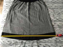 Nowa spódnica ciążowa lniana r.38 z metki