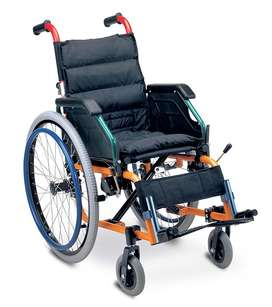 New Fun Coloured Kids Lightweight Wheelchair. FREE DELIVERY, On Sale.