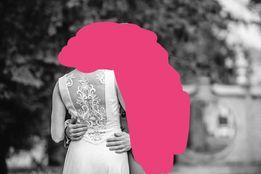 Suknia ślubna minimalistyczna
