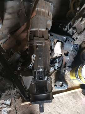 BMW X3 Manual gearbox with transfer case