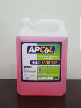 5L Hand Sanitiser 70% Alcohol (WHO recommended)