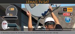 anteny satelitarne,anteny telewizyjne,dvbt,wawer,montaż,sprzedaż,nc+