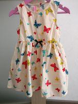 Продам новое платье на девочку 3-4 года