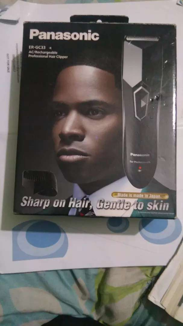 Panasonic rechargeable clipper 0