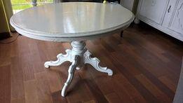 Stary przedwojenny stół kawowy