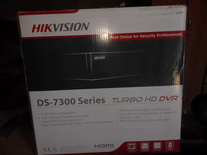 HIKVISION security recorder. 0