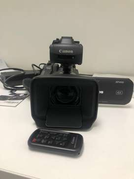 Canon XF 400 proffessional video camcorder.