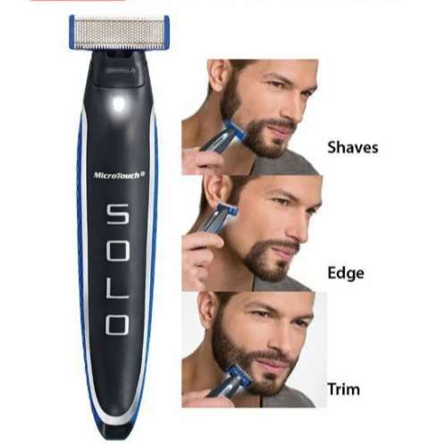 Electric Men's Beard Shaver and Trimmer 0