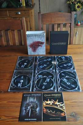 Game Of Thrones Seasons 1 and 2 DVD Boxset