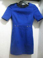Платье Adolfo Dominguez оригинал синее футляр Испания made in Morocco