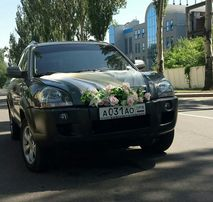 Авто, машина на свадьбу с украшением, аренда, прокат авто. Свадебное