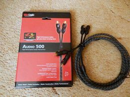 кабель-шнур акустический WireLogic Audio 500 -2RCA*2RCA-2m