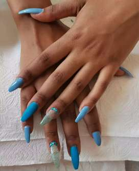 Manicures, pedicures, make up, eyelash extensions and massages
