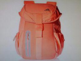 Plecak ADIDAS nowy, kolor pastelowy pomarańczowy
