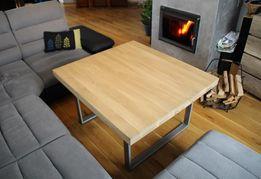 Stół DĘBOWY o wymiarach 80x80 cm