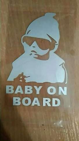 baby on boord stickers