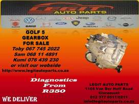 GOLF 5 GEARBOX FOR SALE