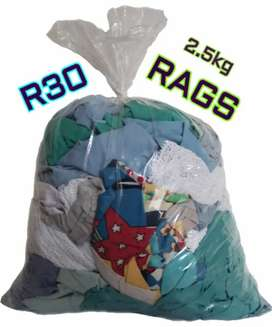 Rags/lappies R30 - 2.5kg