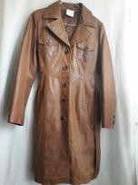 Płaszcz skórzany rozmiar 38