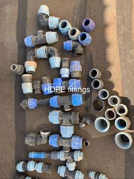 Plumbing HDPE fittings