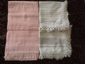 Indian Cotton Bedspread with Continental Pillowcases