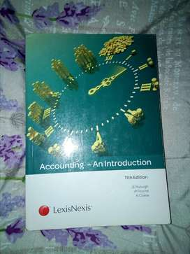 Accounting - An introduction Textbook for sale.
