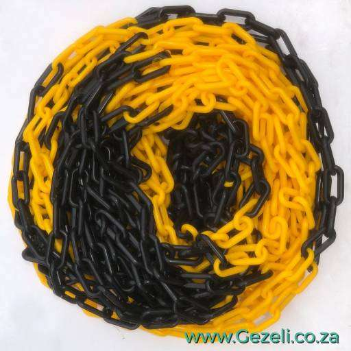 SafetyFirst Plastic Chain Black and Yellow NEW 0